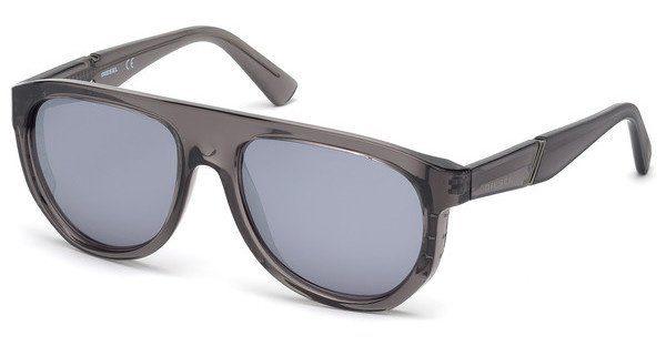 Diesel Herren Sonnenbrille » DL0255«, grau, 20C - grau/grau
