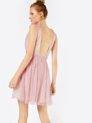 Little Mistress Chiffonkleid Blush, Stickerei