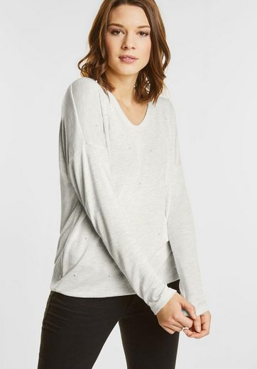Street One Knit Shirt With Pearls