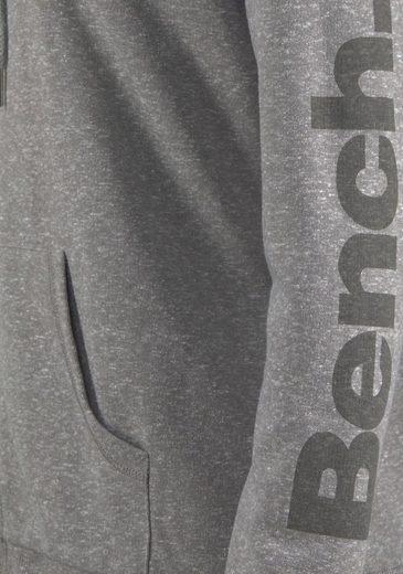 Bench. Sweatjacke mit Kapuze und Logo Print