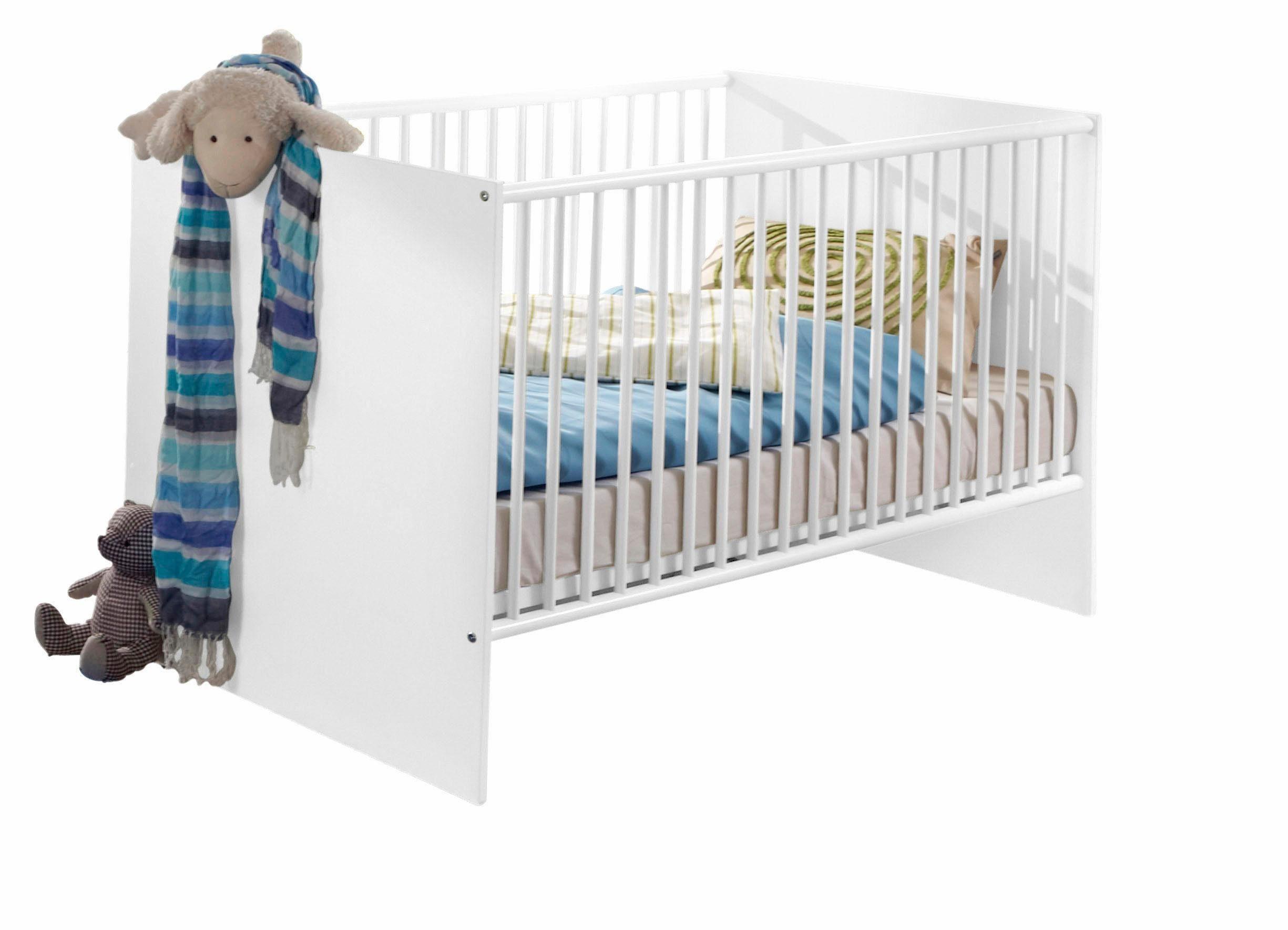 Kinderbett »Rimini« in alpinweiß