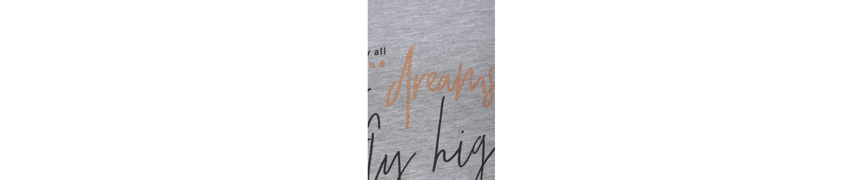 Billig Verkauf Großhandelspreis Beste Preise Im Netz Arizona Shorty mit kontrastfarbenen Ärmeln und Schrift Print m4EI7