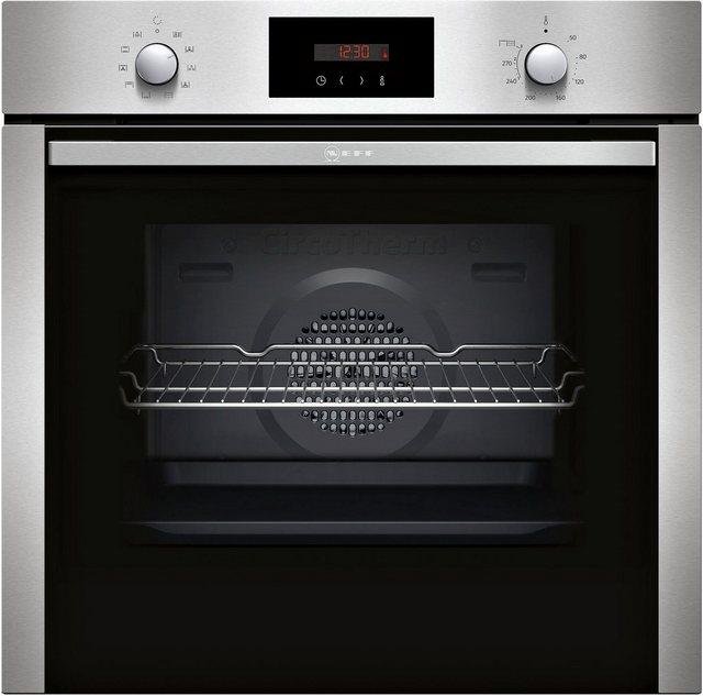 Küchengroßgeräte - NEFF Pyrolyse Backofen BCB2662 B2CCG6AN0, mit Teleskopauszug nachrüstbar, Pyrolyse Selbstreinigung, CircoTherm® Heißluft  - Onlineshop OTTO