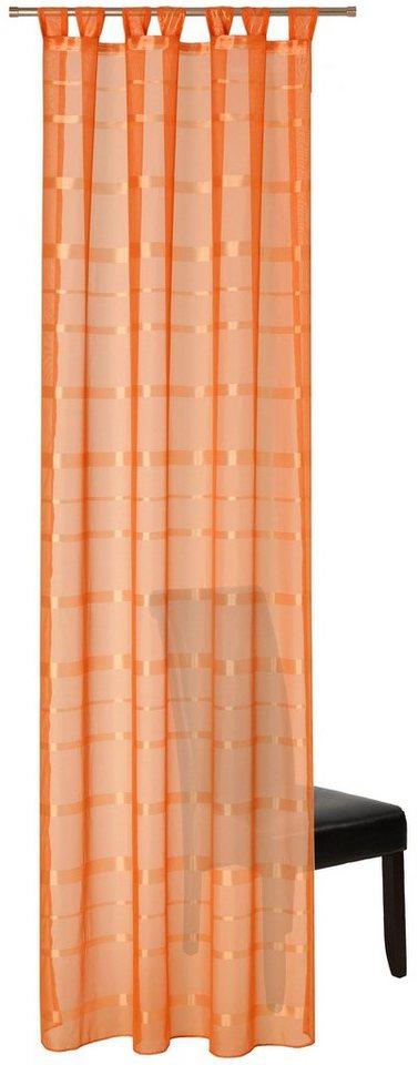 gardine deko trends melia mit schlaufen 1 st ck online kaufen otto. Black Bedroom Furniture Sets. Home Design Ideas