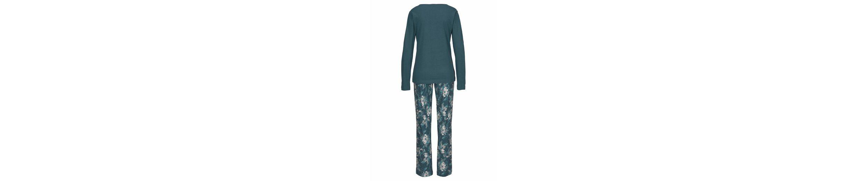 Vivance Dreams Pyjama mit langer Hose im floralen Print Günstiger Preis Zu Verkaufen 2yqEkanK
