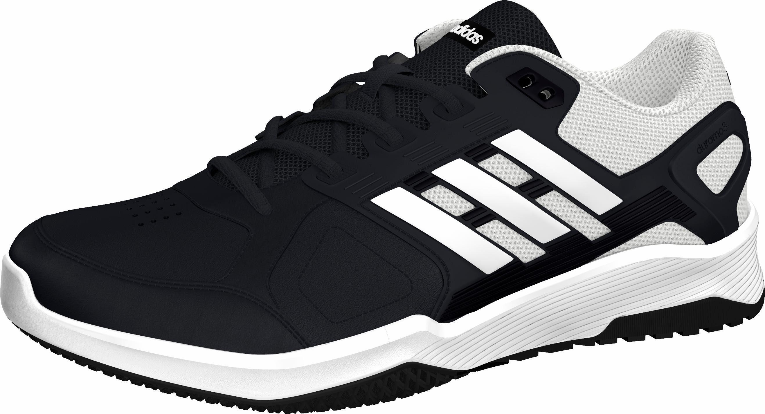 adidas Duramo 8 Trainer M Trainingsschuh kaufen  schwarz-weiß