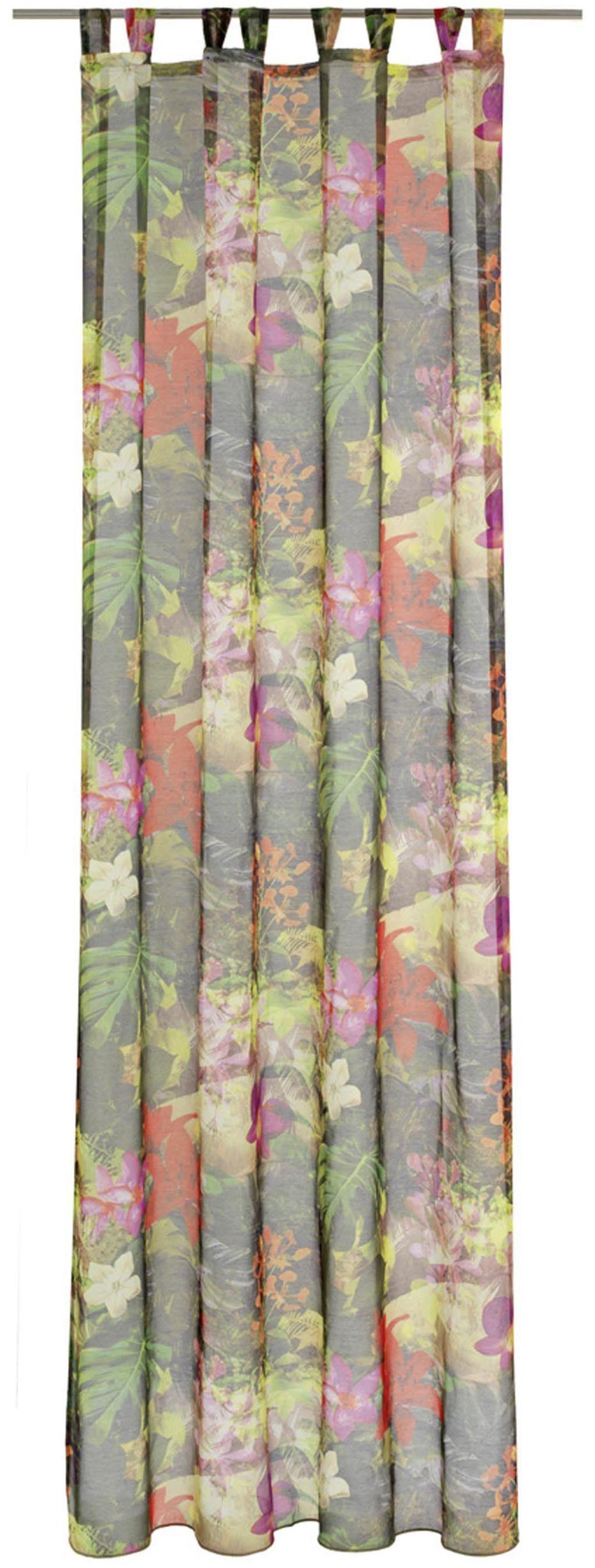 Vorhang »Papaya«, DEKO TRENDS, Schlaufen (1 Stück)