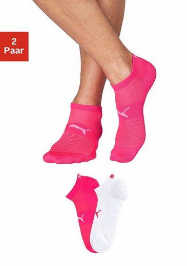 PUMA Sneakersocken (2 Paar) mit Netzstoff-Einsätzen