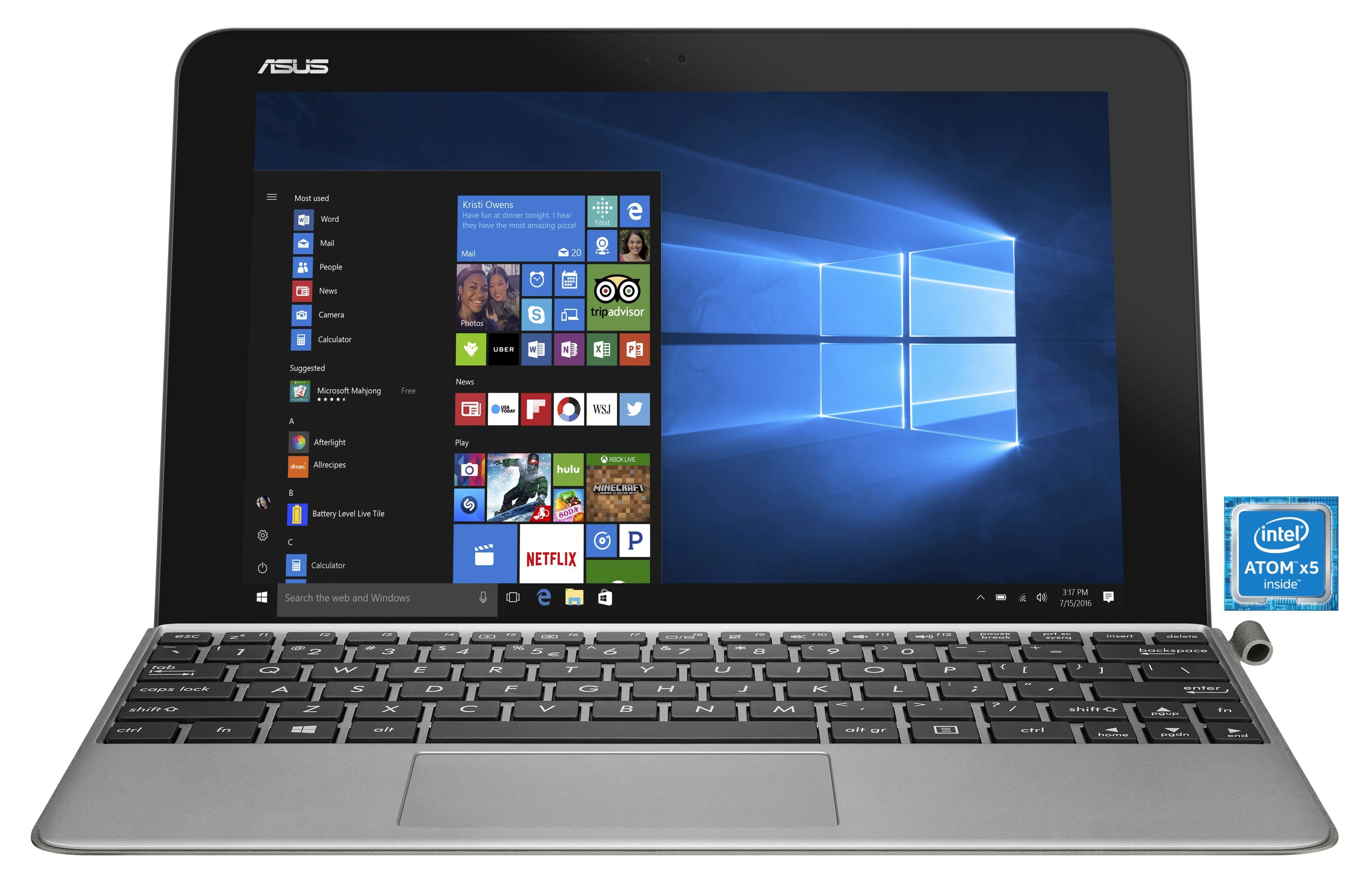 "ASUS Transformer Mini T103HA 2in1 »Quad-Core, 10,1"" (25,6cm), 64 GB EMMC, 4 GB«"