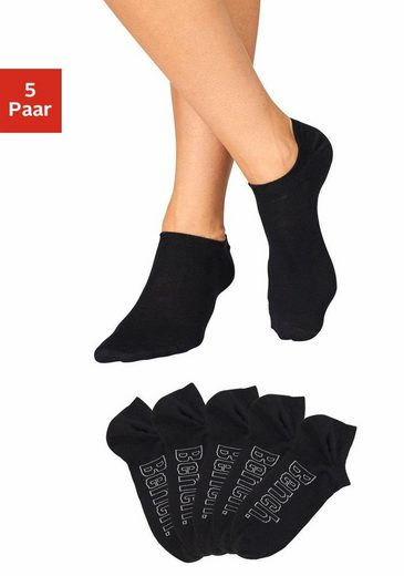 Bench. Sneakersocken (5-Paar) für modische Sneaker-Schuhe