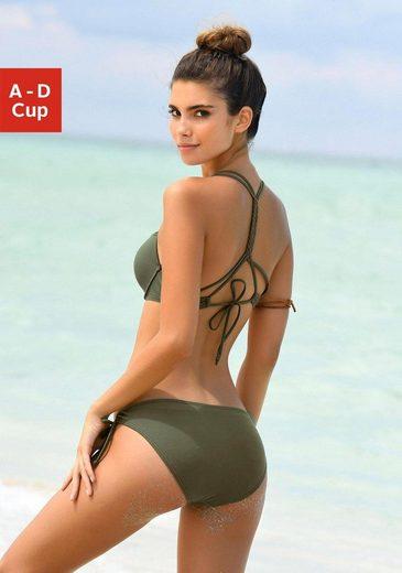 Buffalo Push-Up-Bikini mit geflochtenem Rückendetail