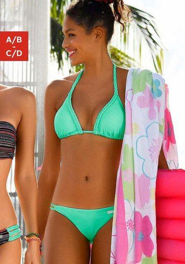 Buffalo Triangel-Bikini mit geflochtenen Details