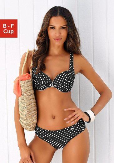 LASCANA Bügel-Bikini im klassischen Punkte Design