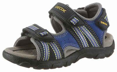 Timberland Kids Adventure Seeker 2-Strap Sandal Blau, Kinder Sandale, Größe EU 23 - Farbe Navy-Yellow