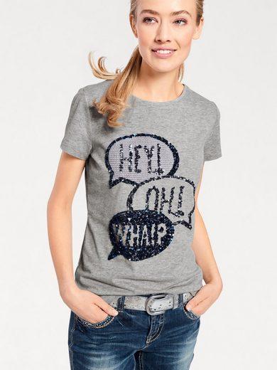 B.C. BEST CONNECTIONS by Heine Shirt mit Paillettenmotiv