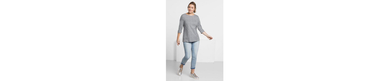 Original Günstiger Preis Günstiger Online-Shop sheego Casual 3/4-Arm-Shirt Footaction Zum Verkauf Billig Erschwinglich dVG4my