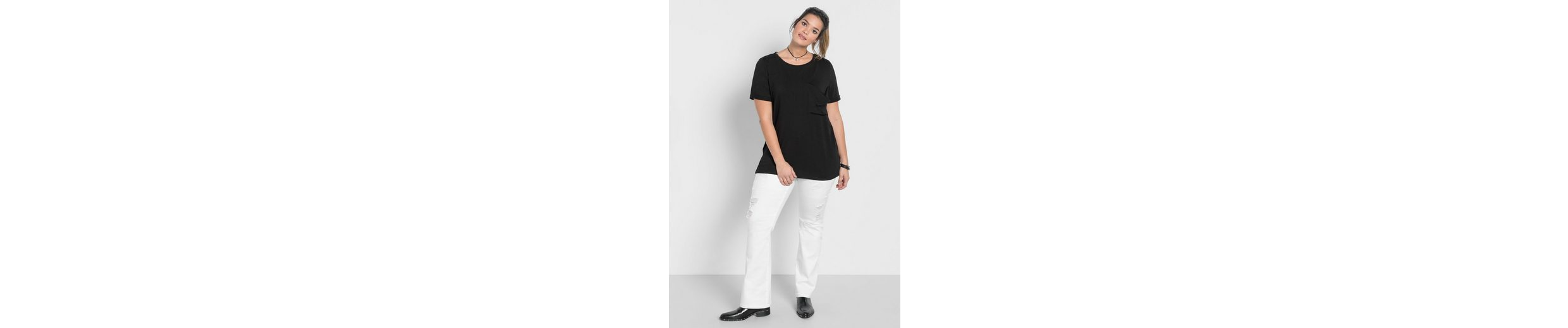sheego Casual Longshirt Versandrabatt Authentisch 4K7RQlz