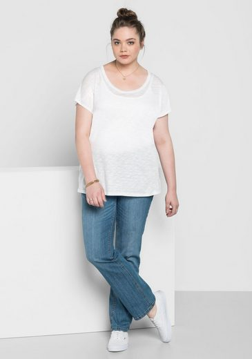 sheego Basic Oversize-Shirt