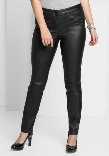 Damen sheego Style 5-Pocket-Hose schwarz | 04054697808315