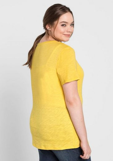 sheego Basic T-Shirt