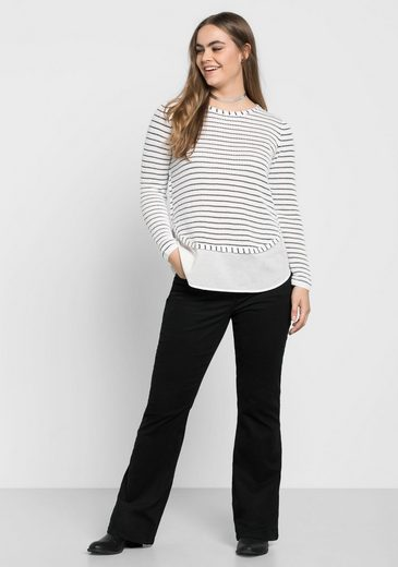 sheego Casual 2-in-1-Pullover