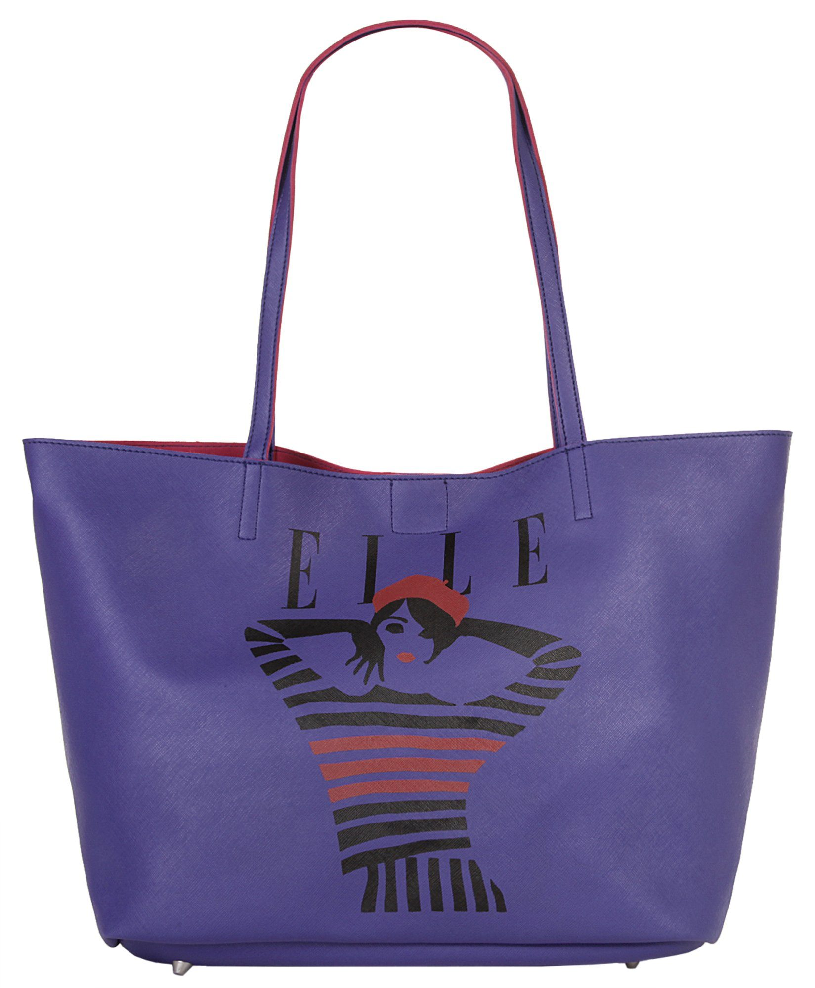 ELLE Damen Shopper »JUST COVER«