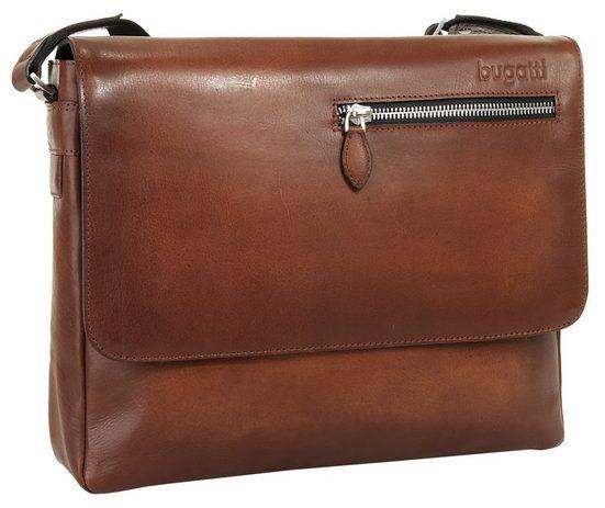Bugatti Leder Messenger Tasche DOMUS