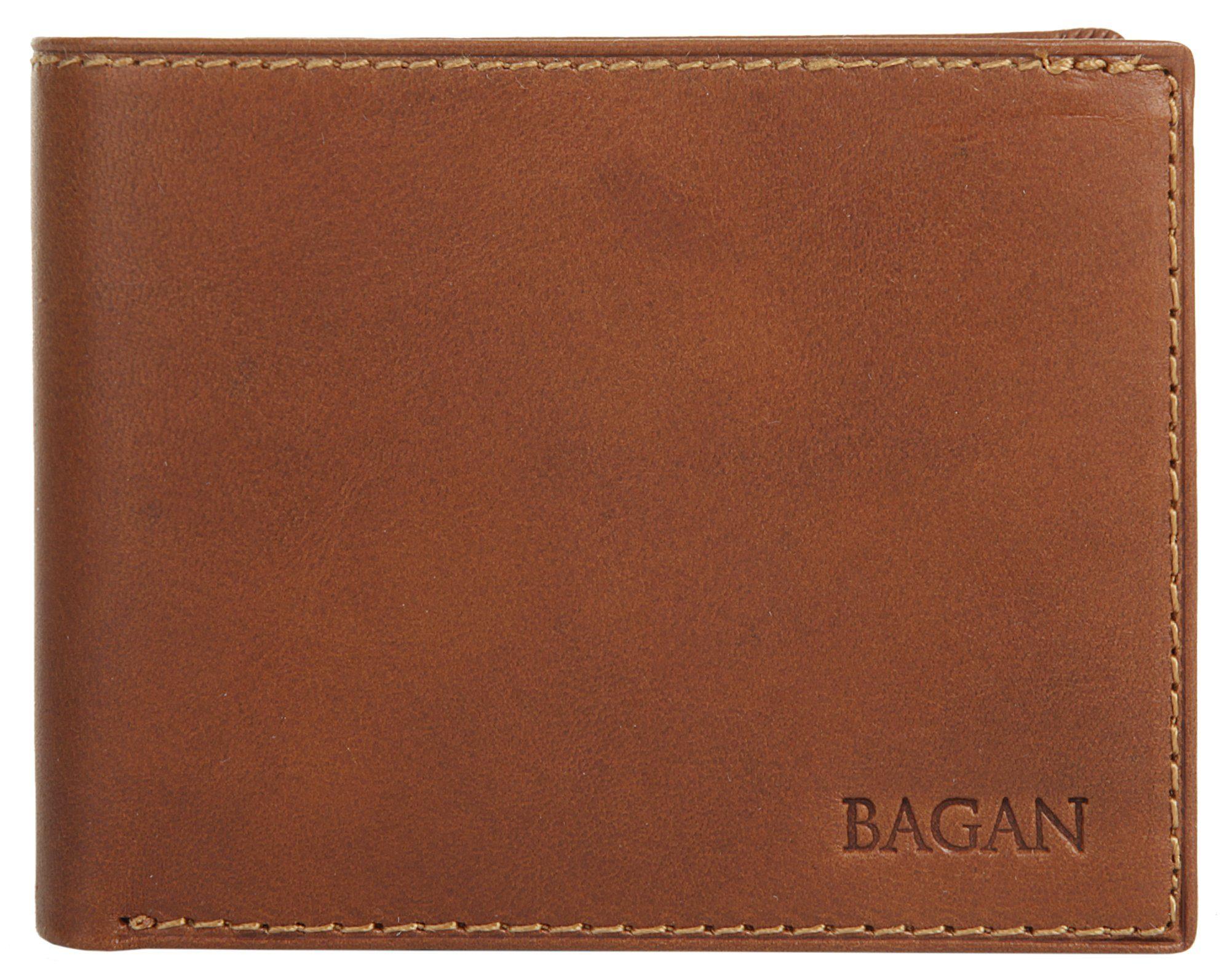 Bagan Geldbörse »BICOLORE MOGANO«, Kreditkartenfächer