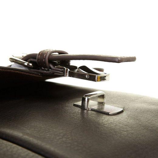 Bugatti Leder Messengerbag MONTREAL