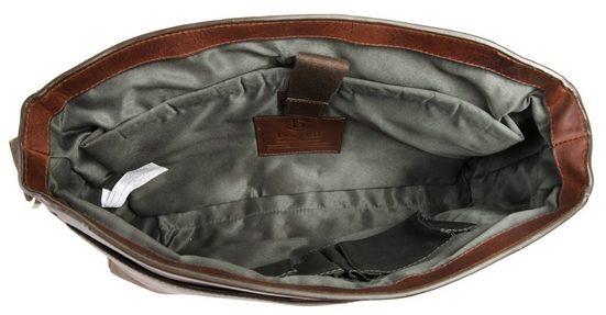 Bugatti Leder Messengerbag TOCCO