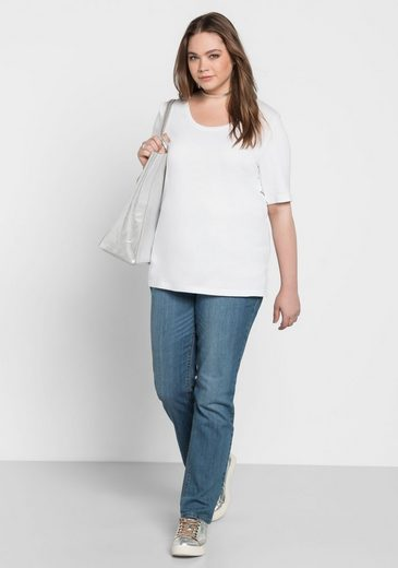 Sheego Basic T-shirt