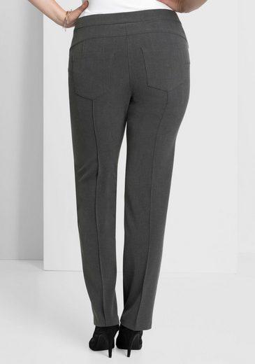 sheego Style Bügelfaltenhose