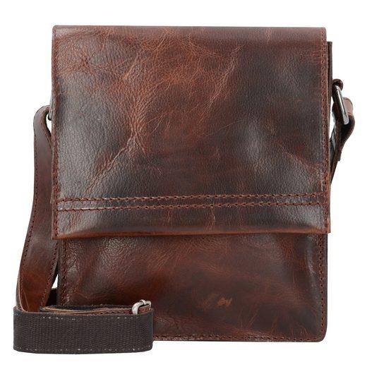 Harolds Saddle Shoulder Bag Leather 18 Cm