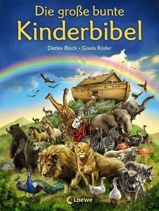 Gebundenes Buch »Die große bunte Kinderbibel«