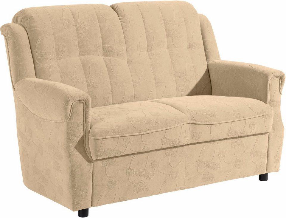 2 sitzer sofa manhattan im reliefsamt breite 133 cm online kaufen otto. Black Bedroom Furniture Sets. Home Design Ideas