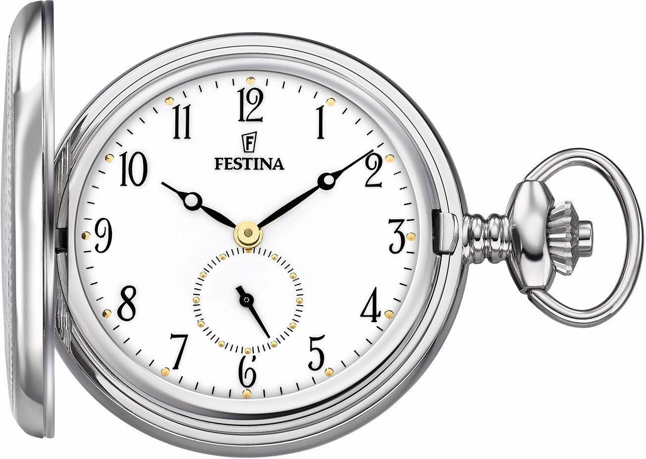 Festina Taschenuhr »F2026/1« (Set, 2 tlg), mit dezentraler Sekunde