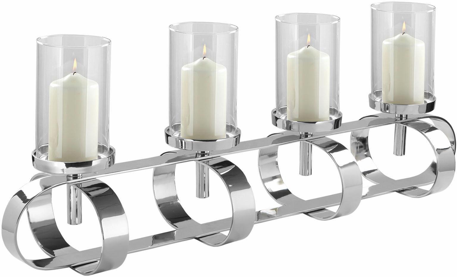 Fink Leuchter »GORDEN« mit 4 Glaszylindern