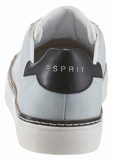 ESPRIT Nicolette LU Sneaker, mit Kontrastbesatz