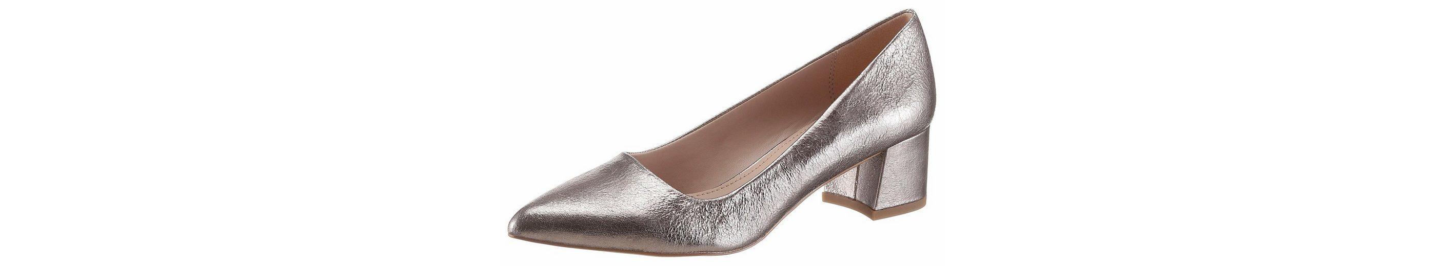 ESPRIT Laurel Pump Pumps, im glänzenden Metallic-Look