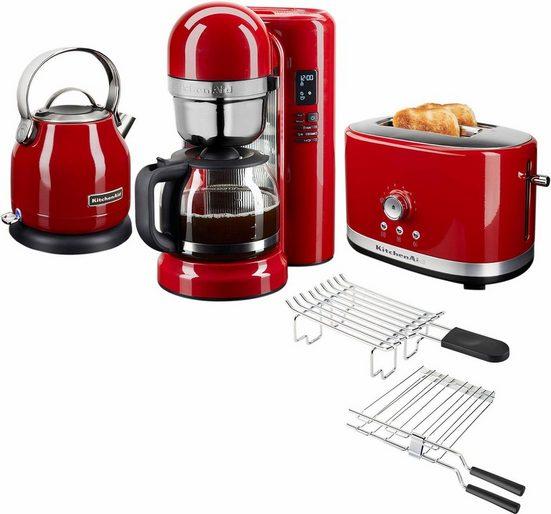 KitchenAid Frühstücks-Set »3-teilig«, Empire Rot