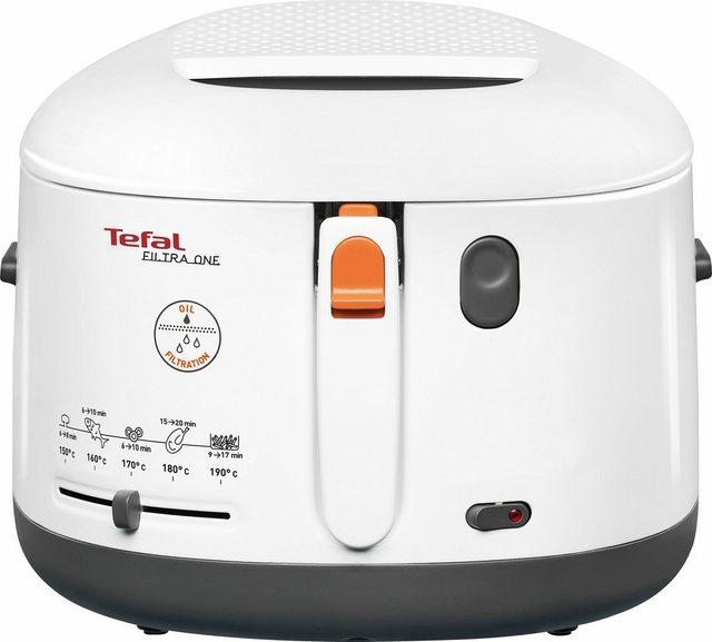 Tefal Fritteuse FF1631 One Filtra  1900 W  Fassungsvermögen 2 1 l   Küche und Esszimmer > Küchengeräte   Tefal
