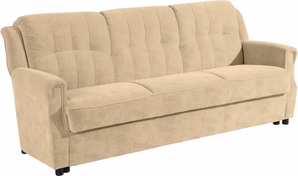 3 Sitzer Manhattan Inklusive Bettfunktion Bettkasten Breite