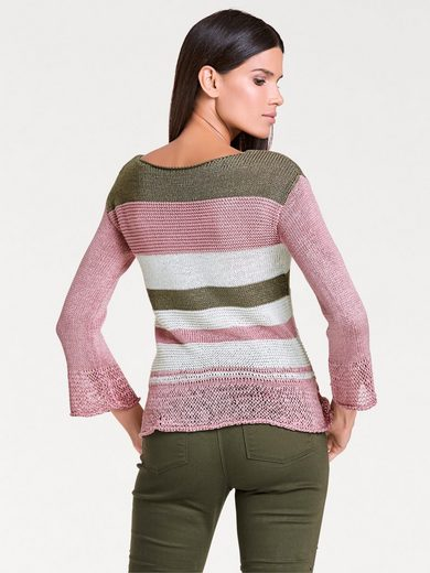 ASHLEY BROOKE by Heine Pullover aus Bändchengarn