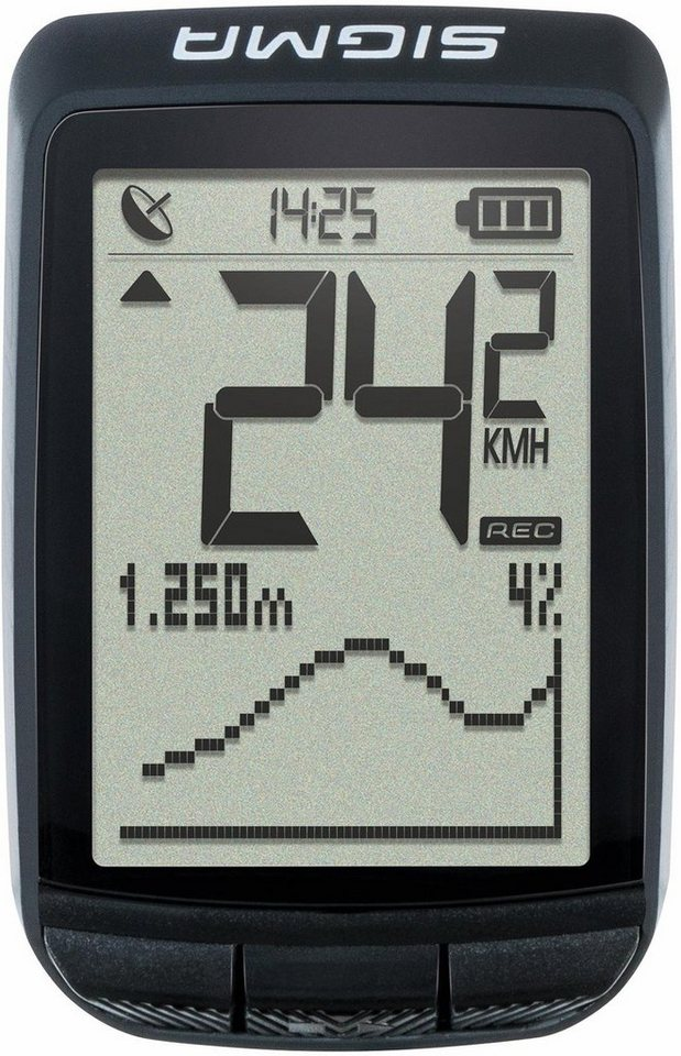 sigma fahrradcomputer gps schwarz pure gps otto. Black Bedroom Furniture Sets. Home Design Ideas