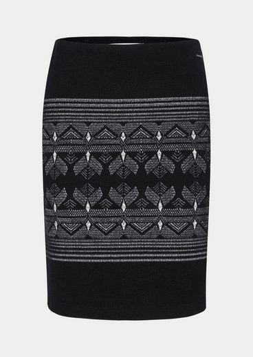 Comma Short Skirt With A Fancy Pattern