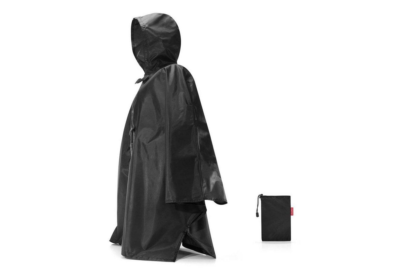 REISENTHEL® Regenjacke »mini maxi poncho« | Sportbekleidung > Sportjacken > Regenjacken | Schwarz | Polyester | REISENTHEL®