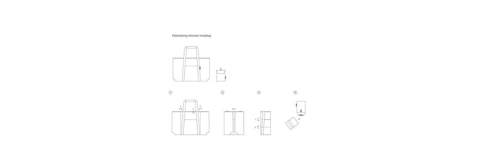 Freies Verschiffen Viele Arten Von reisenthel Reisetasche mini maxi travelbag Verkauf Online-Shopping Auslasszwischenraum Store 2018 Billig Verkaufen Auslass-Websites QEeqiI