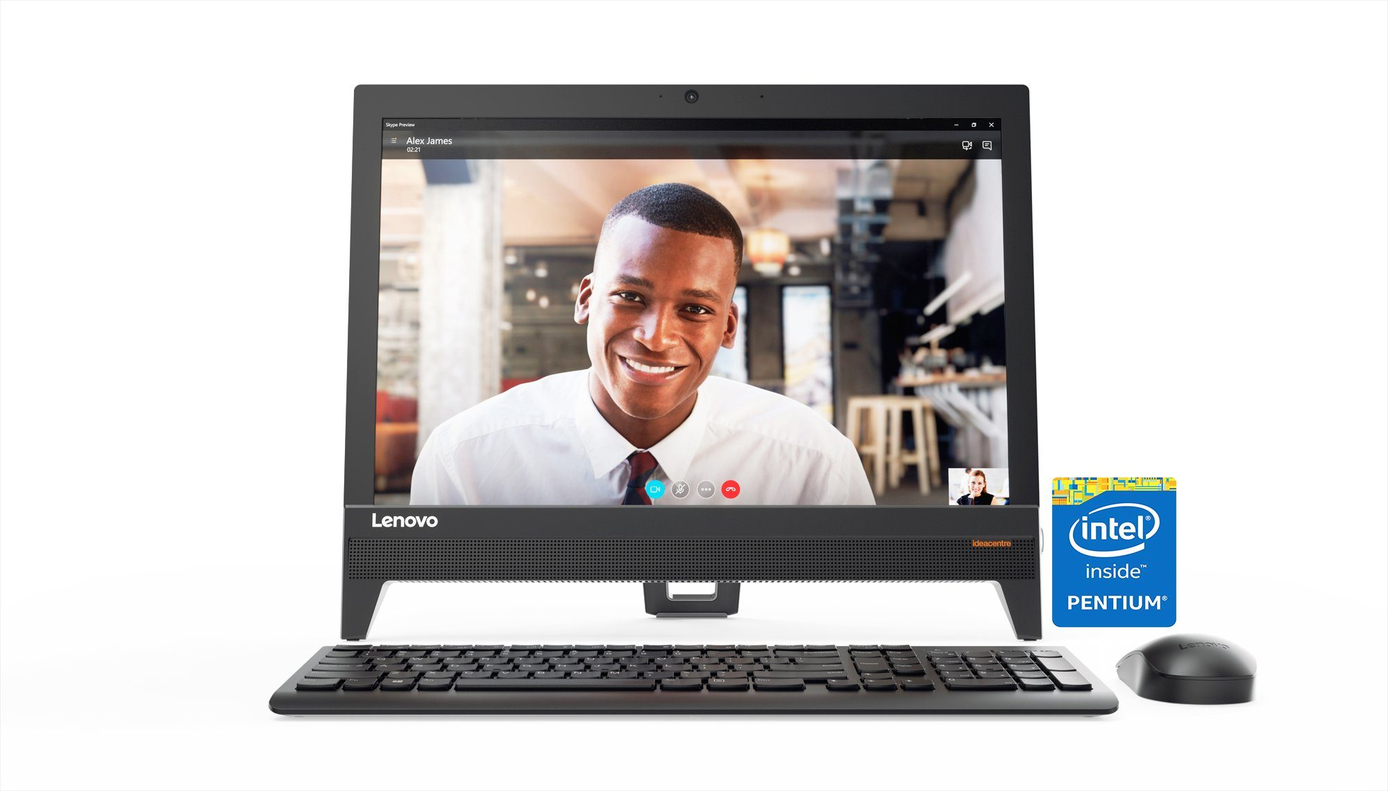 Lenovo All-in-one PC »AIO 310-20IAP J4205 4GB«