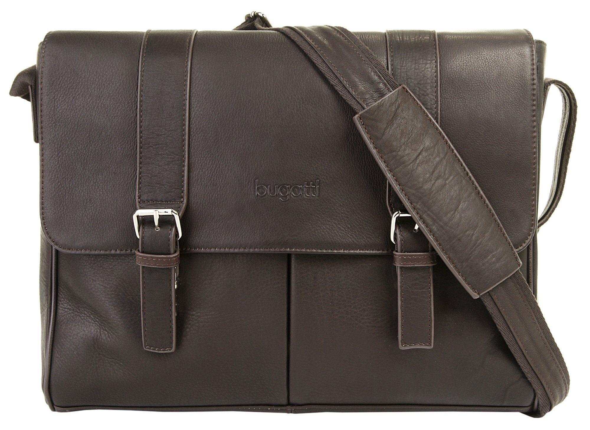 Bugatti Leder Messengerbag »MONTREAL«
