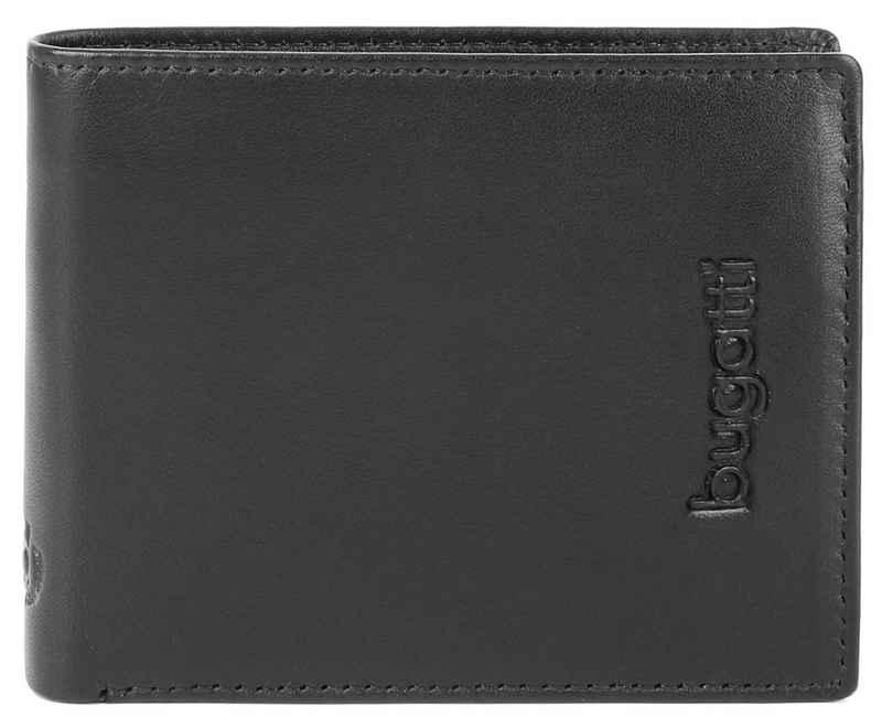 bugatti Geldbörse »VERTICE,Leder« (1-tlg), besonders schlankes Design